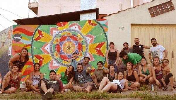 Pintaron muralesen Villa  Insuperable