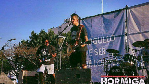 Rock alternativo con Hormiga