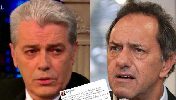 La respuesta de Scioli a las acusaciones de Silvestre