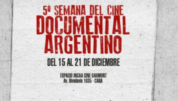 Comienza la Semana del Cine Documental Argentino