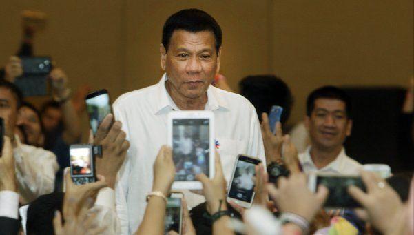 """El presidente de Filipinas mató a ladrones para """"dar el ejemplo"""""""