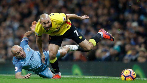 Zabaleta la metió y Manchester City volvió al triunfo