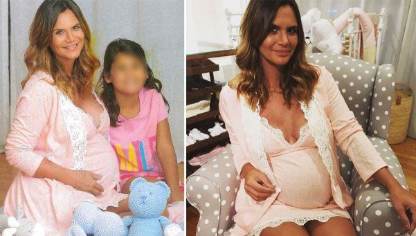 Nació Roque: Amalia Granata fue mamá