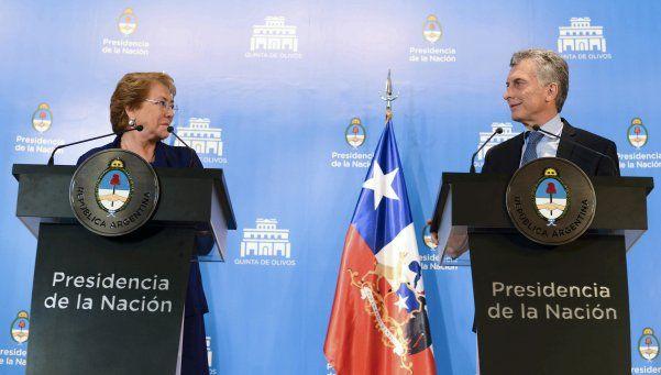Macri y Bachelet anunciaron obras en los pasos fronterizos