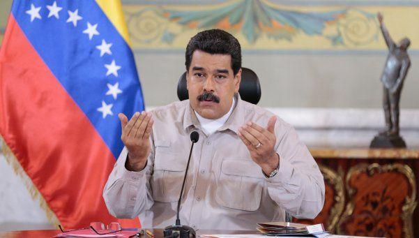 """Maduro atacó a Macri: """"Cobarde, oligarca, ladrón"""""""