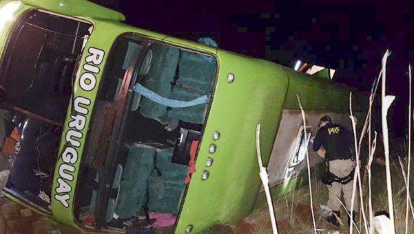 Liberaron al chofer del micro accidentado en Brasil