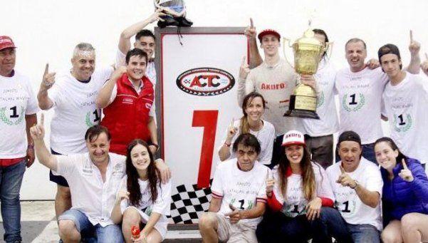 Catalán Magni, a los 17, campeón de TC Mouras
