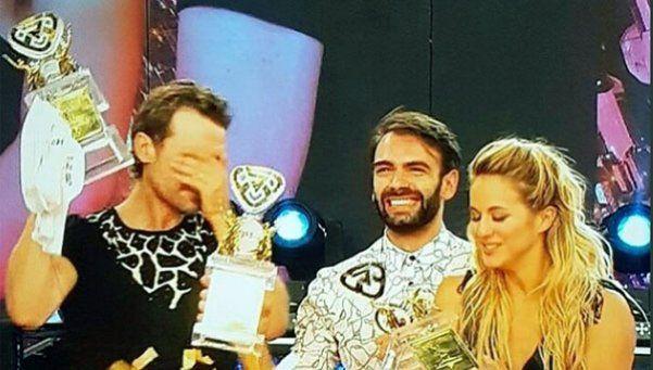 Así fue el momento del anuncio: Pedro y Flor campeones del Bailando