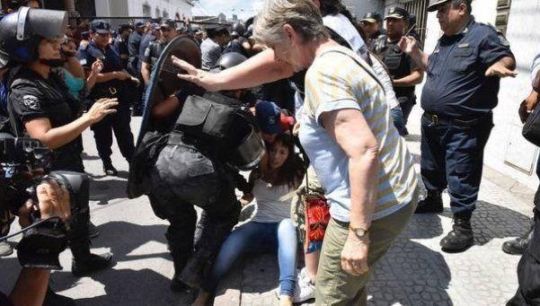 Diputada denunció haber sido golpeada durante incidentes en Jujuy