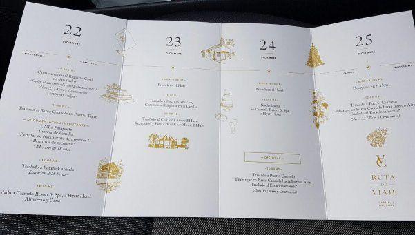 ¿Cómo es el cronograma del casamiento de Tevez?