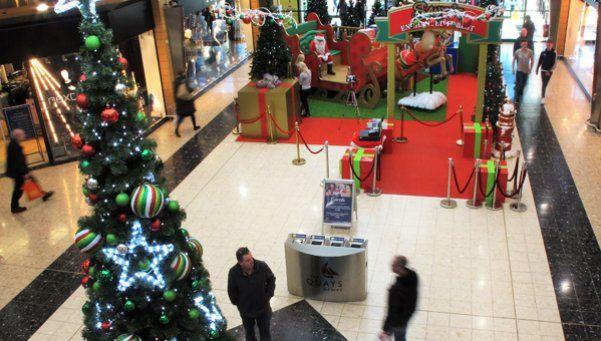 En Navidad las ventas minoristas retrocedieron