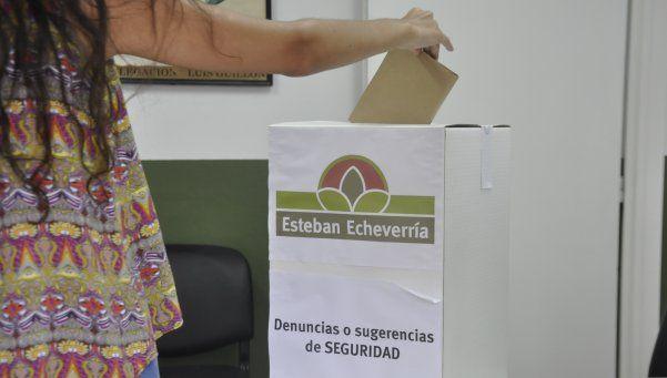 La seguridad va a las urnas en Esteban Echeverría