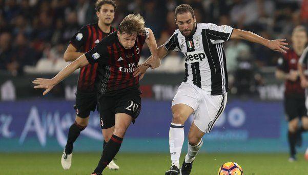 Milan derrotó a Juventus y se quedó con la Supercopa de Italia