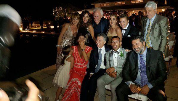 Con Macri, la fiesta interminable de Tevez sigue a todo ritmo