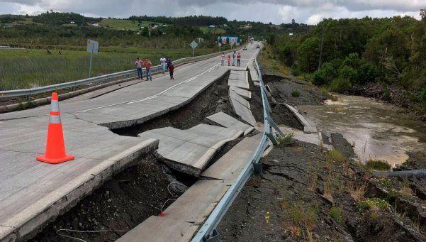 Un terremoto de 7,6 grados causó alerta por tsunami en Chile
