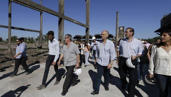 Comenzaron los trabajos de la Nave Osorio y la Casa del Futuro.