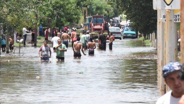 Estiman que son 13 mil los afectados por las inundaciones