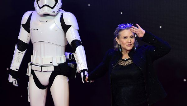 Murió Carrie Fisher, la Princesa Leia de Star Wars