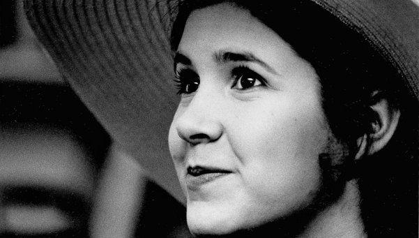 Carrie Fisher, la princesa que superó el alcoholismo y la drogadicción