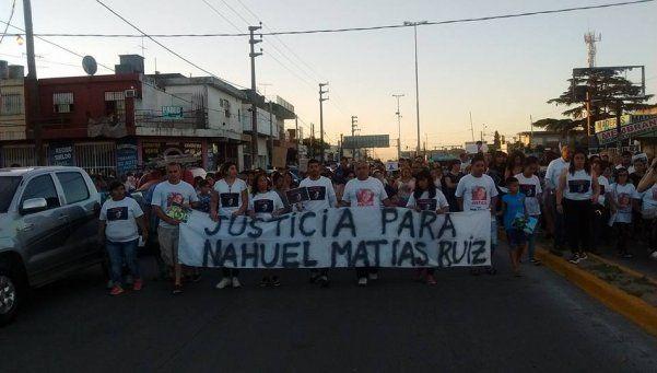 Rafael  Castillo pide justicia por Matías Nahuel Ruiz