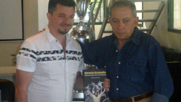 Horacio Accavallo ya tiene un libro para recorrer su vida