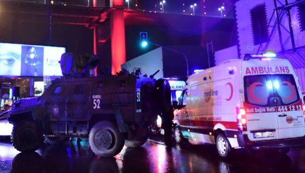 Disfrazado de Papá Noel mató a 39 personas en Turquía