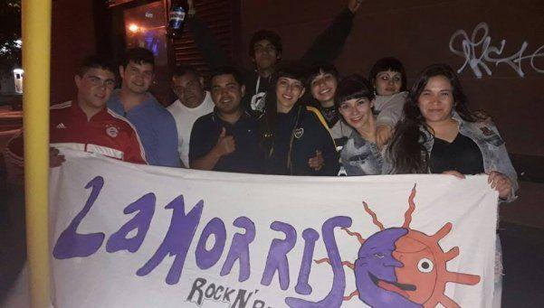 Rock barrial con La Morris