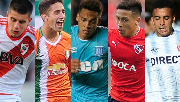 Los 10 jugadores del fútbol argentino que hay que seguir en 2017