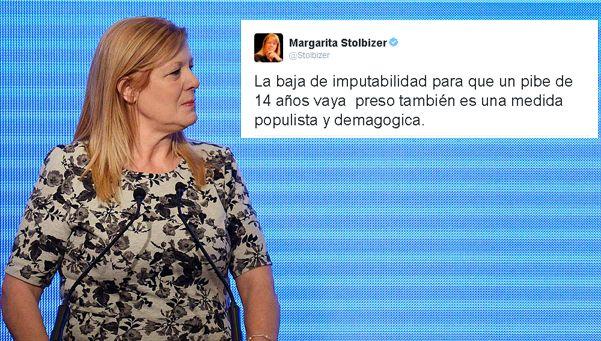 Stolbizer se enojó con Macri por querer meter más chicos presos