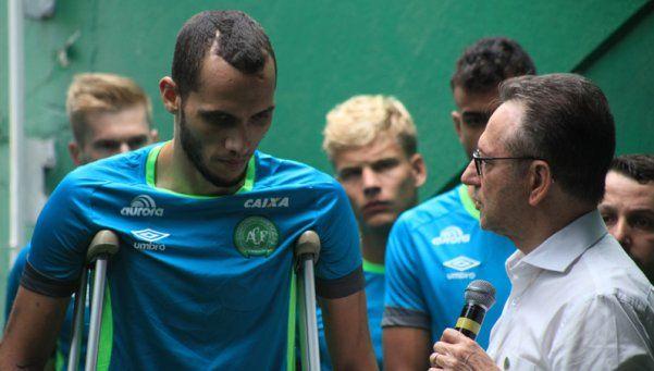 Video | Con una presencia emotiva, Chapecoense volvió a entrenar