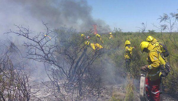 Esfuerzo de productores y bomberos evitó más incendios