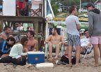 Mar del Plata: intensos operativos para evitar la ingesta de alcohol en la playa