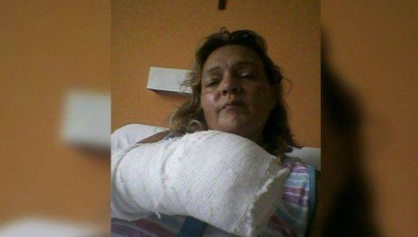 Berazategui: atacan a mujer policía y le cortan tres dedos