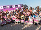 El surf y una fiesta con cuatro generaciones
