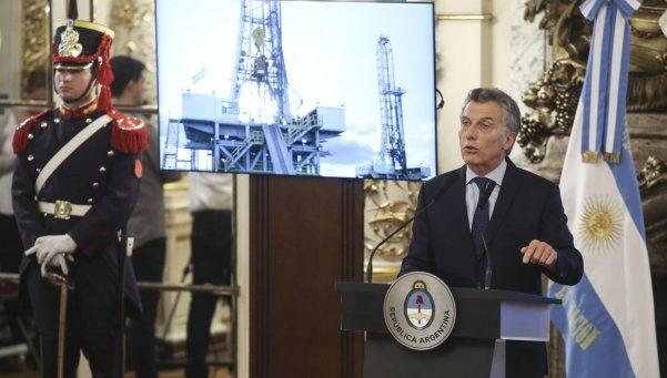 Macri sobre Vaca Muerta: Argentina puede abastecer al mundo entero de energía