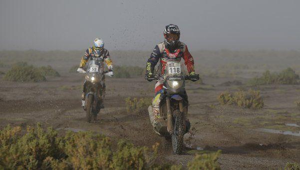 En la octava, el Dakar volvió a entrar a la Argentina