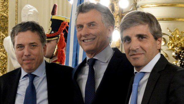 Asumieron Dujovne y Caputo como ministros de Hacienda y Finanzas
