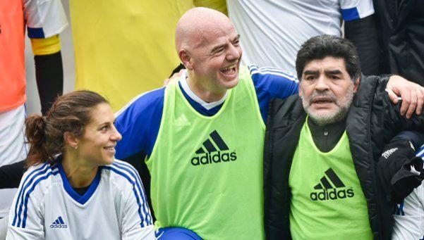 Diego dijo que limpiará la AFA y pidió la cabeza de Marchi