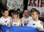 Macri recibe a los padres de Brian Aguinaco