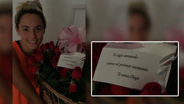 Con esta foto, Rocío desmiente su separación de Diego