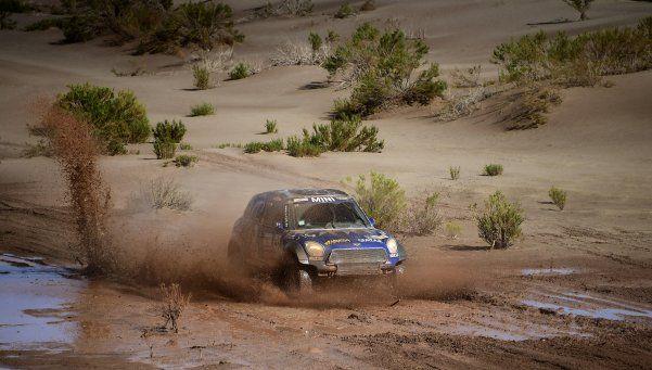 El Dakar llegó a La Rioja luego del día cancelado
