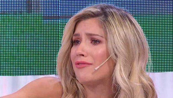 Laurita Fernández rompió en llanto en pleno programa