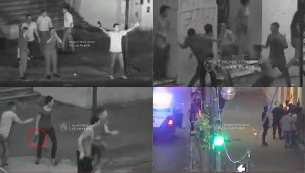 Video   Tremenda pelea en la puerta de un boliche: hay 16 detenidos