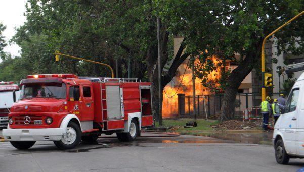 Adrogué: por un incendio, una familia debió ser hospitalizada