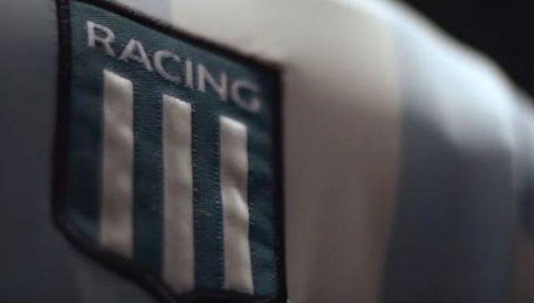 El Chango Cárdenas presenta la nueva camiseta Kappa de Racing