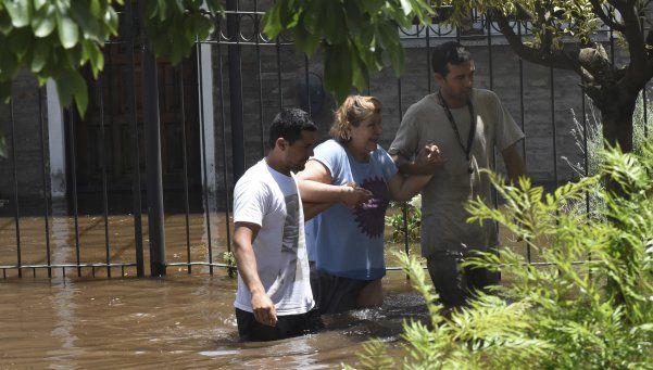 Pergamino otra vez en alerta: inundaciones y evacuados