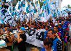 A un año de su detención de Sala: cortes en el Puente Pueyrredón