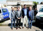 Ritondo entrega móviles al municipio de Lomas de Zamora