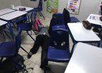 Video | A los tiros, alumno sembró el terror en aula de México