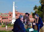 Se viene un yerbatazo en Plaza de Mayo